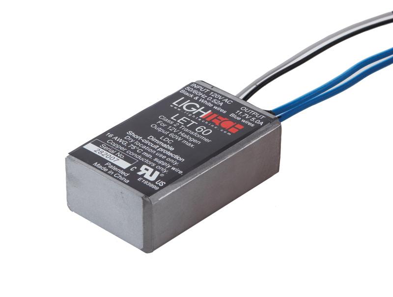 8060-LED-120V JUNO XFMR 12V, 60W (120V INPUT) LED