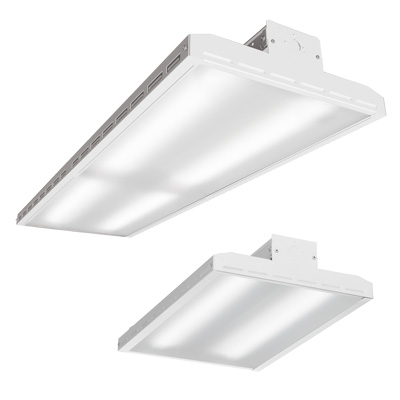 Lithonia Lighting® I-BEAM® IBH High Bay Fixture, LED Lamp, 112/109 W Fixture, 120/277 VAC