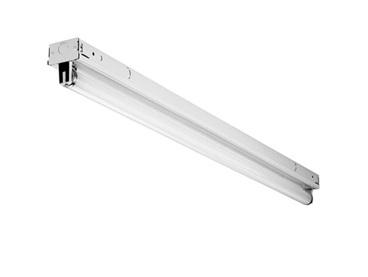 TZ232MV LITHONIA TANDEM LOW PROFILE T8 STRIPLIGHT, 8FT, 4-32 WATT T8 LAMPS, 120-277V, 1/4 INSTANT START ELECTRONIC BALLAST. (CI# 197X84)