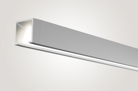 Open LED Suspended Direct  Lighting for People