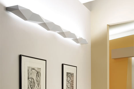 Origami Wall Lighting for People