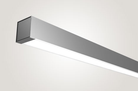 Square Direct Surface Mount Lighting for People
