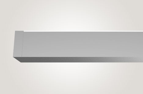 Square Wall Asymmetric Indirect Lighting for People