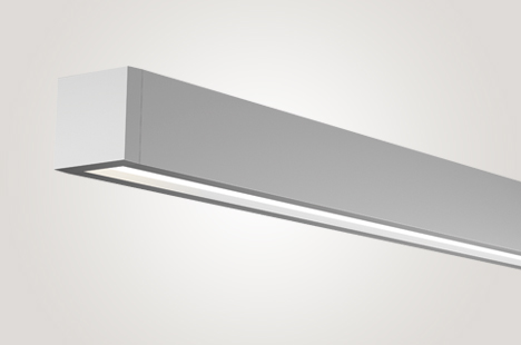 Open LED Suspended Direct Wall Wash Lighting for People