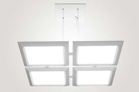 Vellum Quad Pendant Lighting for People